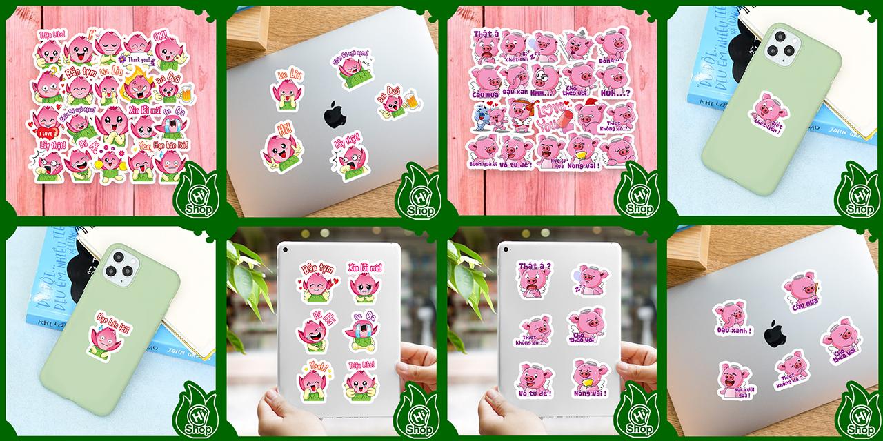 Sticker Hình Dán Trang Trí Cao Cấp - HiShop.VN