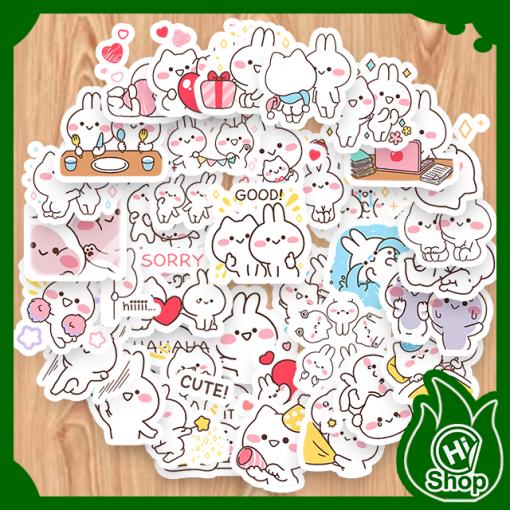 Hình Dán Sticker Mimi & Neko